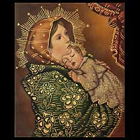 'Madonna with Child Sleeping'