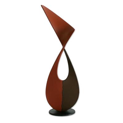 Unique Modern Metal Sculpture