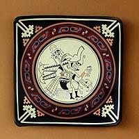 Cuzco ceramic plate,
