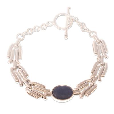 Sodalite pendant bracelet