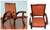 Wood and leather chair, 'Colonial Coffee' - Collectible Colonial Wood Leather Chair from Peru (image 2) thumbail