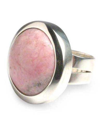 Rhodonite cocktail ring