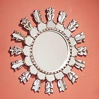 Mohena wood mirror,
