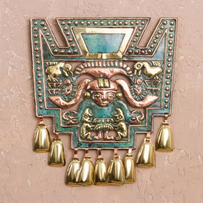 Bronze and copper wall art, Images of Chavin