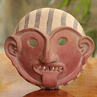 Ceramic mask, 'Vicus Shaman' - Ceramic mask