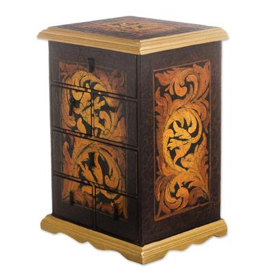 Cedar jewelry box