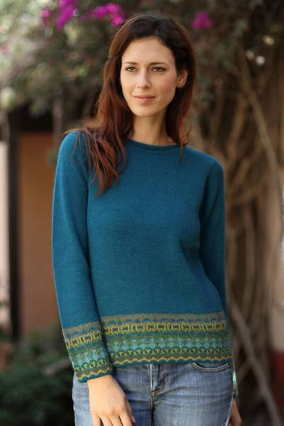 100% alpaca sweater, Inca Muse