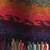 100% alpaca scarf, 'Andean Twilight' - Alpaca Wool Striped Scarf from Peru (image 2d) thumbail