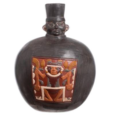 Hand Made Archaeological Ceramic Vase