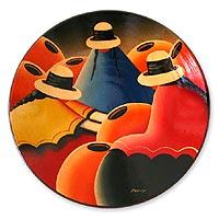 Ceramic plate,