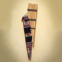 Reed zampona panpipe Wari Melody Peru