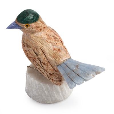 Handcrafted Jasper Gemstone Sculpture