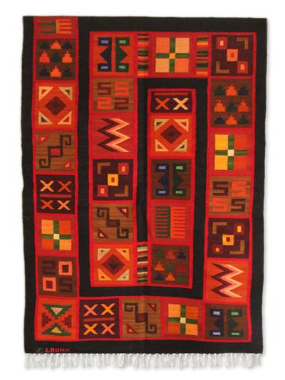 Handmade Wool Tapestry