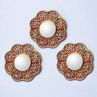 Mirrors, New Spring (set of 3)