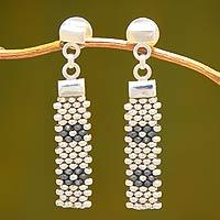 Sterling Silver Dangle Earrings Blossom (peru)