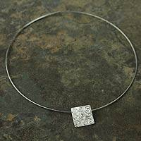 Topaz choker, 'Purity of Thought' - Topaz choker