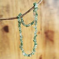 Strand necklace,