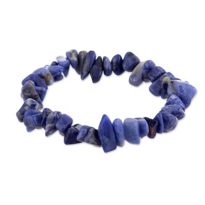 Sodalite stretch bracelet