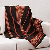 Featured review for Alpaca blend throw, Governor