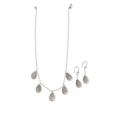 Handcrafted Sterling Silver Jewelry Set