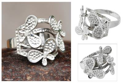 Sterling Silver Artisan Crafted Ring Jewelry