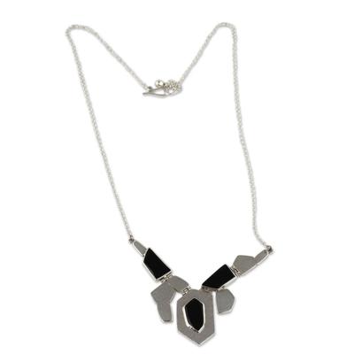 Handmade Obsidian Necklace