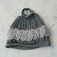 Alpaca blend hat,