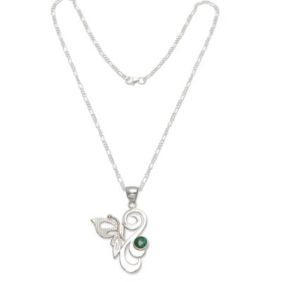 Hand Made Peruvian Chrysocolla Necklace