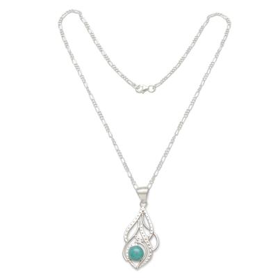 Fair Trade Amazonite Silver Necklace