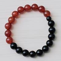 Agate quartz stretch bracelet,