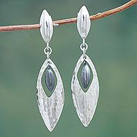 Sterling Silver Dangle Earrings Sonata (peru)