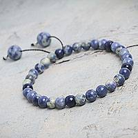 Sodalite stretch bracelet,