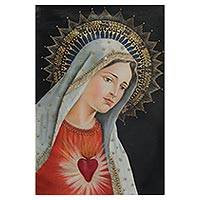 'Mary' - Limited Edition Christian Artwork Oil Painting of Mary