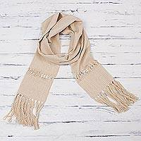 Cotton unisex scarf,