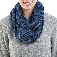 100% alpaca infinity scarf,
