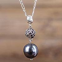 Sterling Silver Pendant Necklace Forest Fruit (peru)
