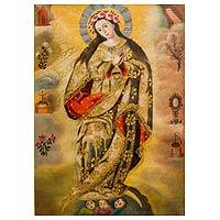 'Immaculate Conception' - Immaculate Conception Painting Religious Christian Art