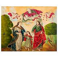 'Holy Family' - Religious Christian Art of Holy Family Colonial Style