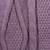 100% alpaca scarf, 'Antique Lilac Allure' - Dusty Lilac 100% Alpaca Scarf Diamond Motif from Peru (image 2d) thumbail