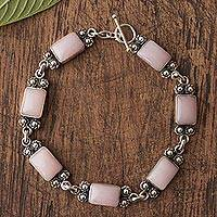 Opal link bracelet,