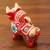 Ceramic figurine, 'Big Red Pucara Bull' - Red Painted Ceramic Bull Folk Art Figurine from Peru (image 2b) thumbail