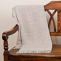 100% baby alpaca throw,