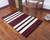 Wool area rug, 'Andean Hearth' (3.5x5.5) - Striped 100% Wool Area Rug from Peru (3.5x5.5) (image 2c) thumbail
