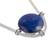 Lapis lazuli pendant necklace, 'Essence of Time' - Peruvian Sterling Silver Pendant Necklace with Lapis Lazuli (image 2c) thumbail