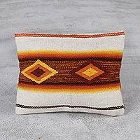 Wool cosmetic bag, 'Inca Inspiration' - Multicolor Woven 100% Wool Cosmetic Bag from Peru