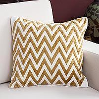 Alpaca blend cushion cover,