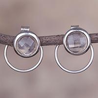 Quartz Drop Earrings Sweet Rings (peru)