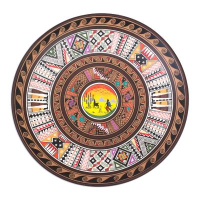 Decorative Ceramic Cuzco Plate