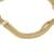 Gold plated sterling silver chain bracelet, 'Dragon Royalty' - Gold Plated Sterling Silver Naga Chain Bracelet from Peru (image 2d) thumbail
