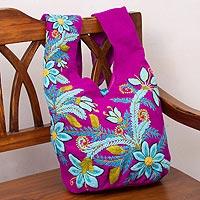 Wool sling bag,